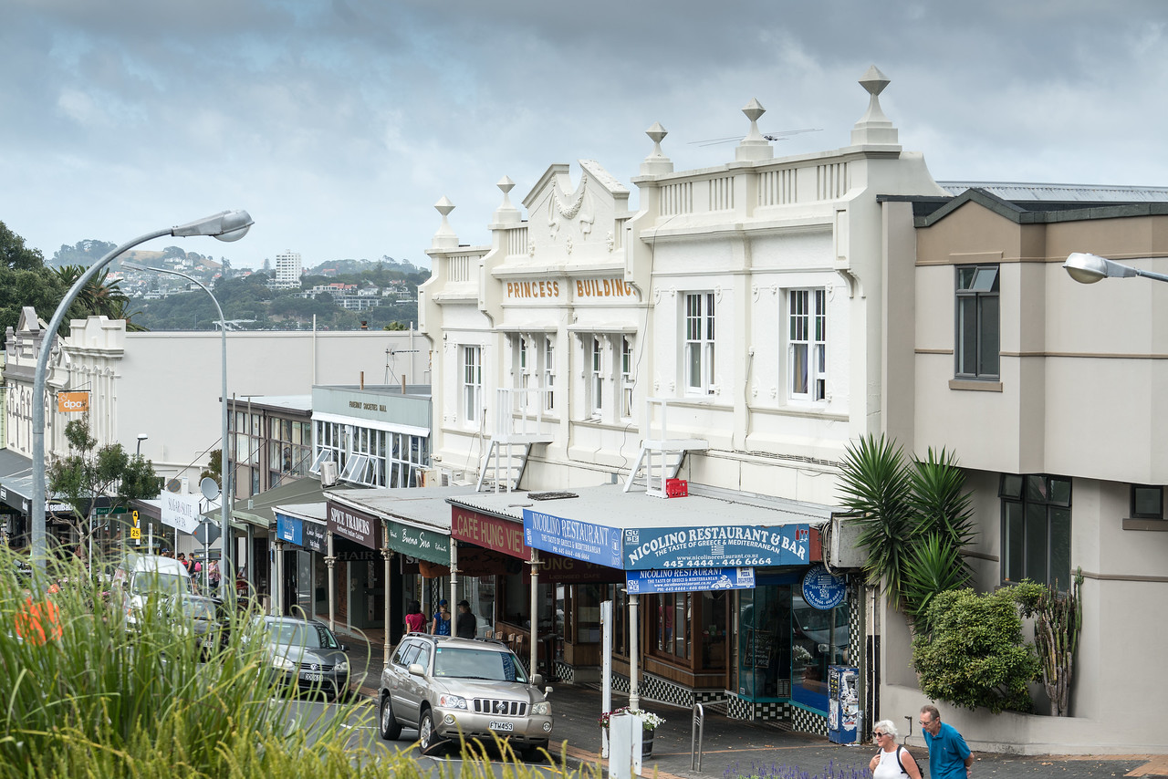 Strolling in Devonport.