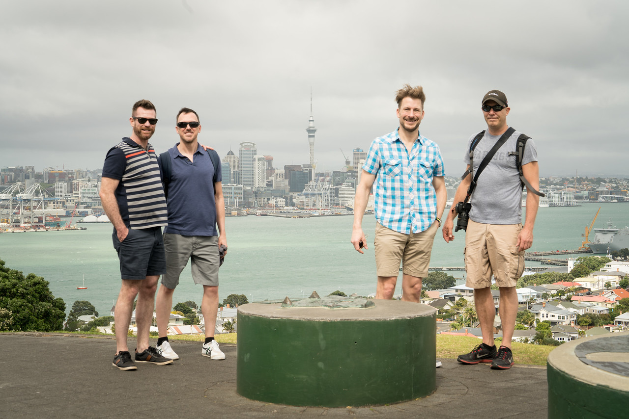 Atop Mount Victoria in Devonport.