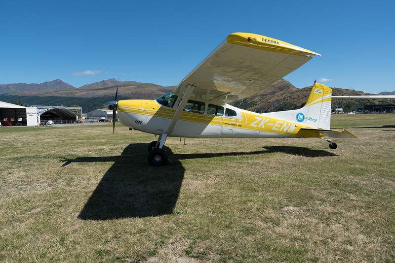 Part of the Milford Air fleet, a Cessna Skywagon 185.