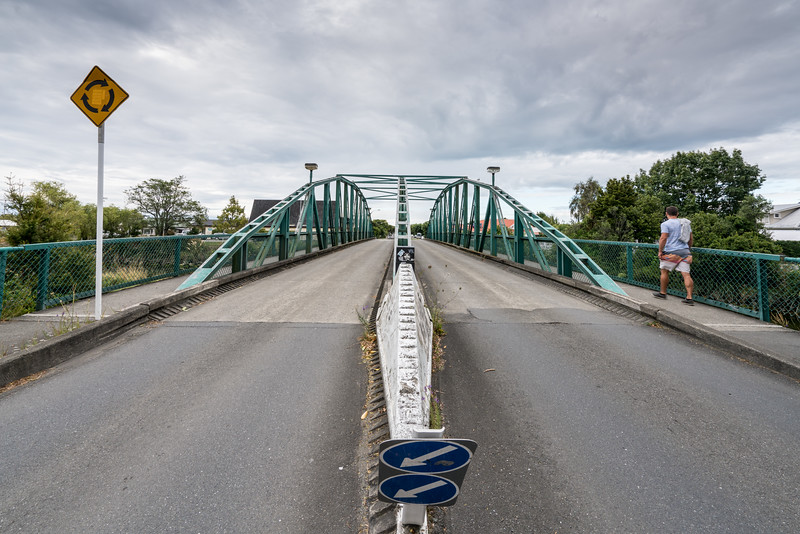 The Trafalgar Street Bridge.