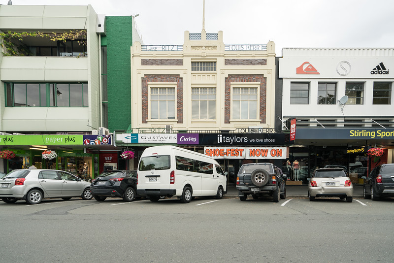 Some typical shops in Nelson.