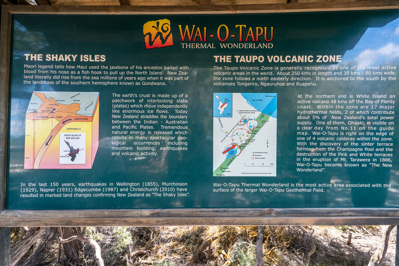 Explaining the Taupo Volcanic Zone.