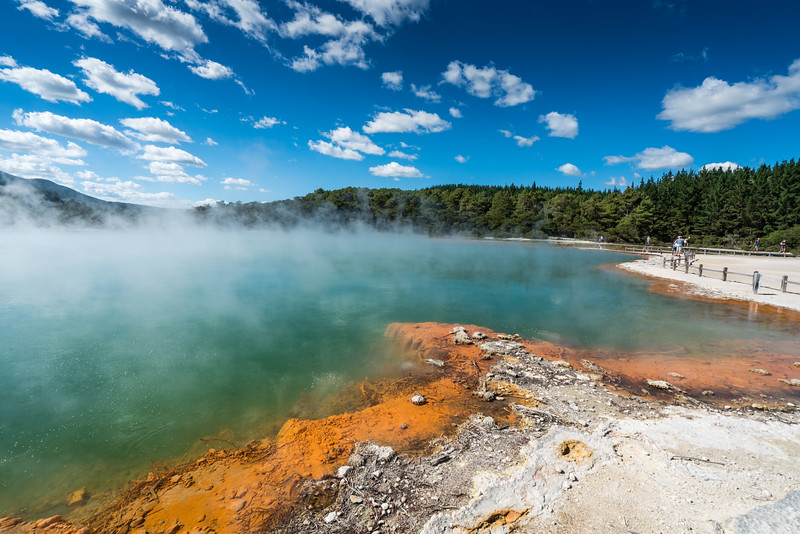 The Champagne Pool.