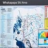 Ski map of the Whakapapa Ski Area.