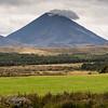 Mount Ruapehu, the inspiration for Mount Doom in J.R.R. Tolkien's Middle-earth legendarium.
