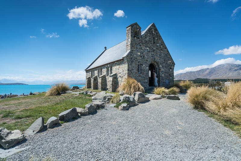 Church of the Good Shepherd, on the shore of Lake Tekapo.
