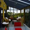 We enjoyed breakfast in the atrium at Kapitea Ridge Bed and Breakfast, Hokitika, New Zealand