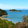 View from the Abel Tasman Coast Trail in New Zealand