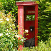 Recycled telephone booth