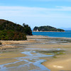 A beach on the Abel Tasman Coast Trail in New Zealand
