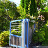 Gate at Shelbourne Villa in Nelson, New Zealand