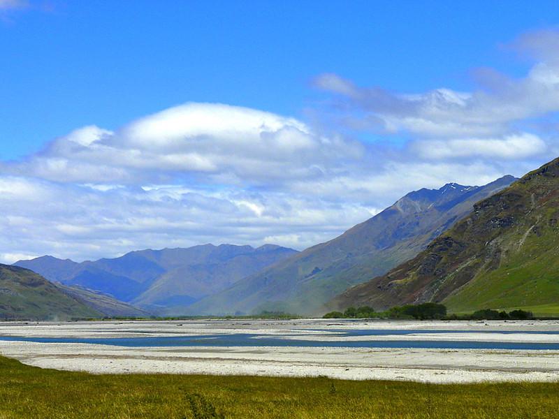 Matukituki River Valley, Wanaka, New Zealand