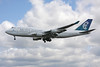 ZK-SUH Boeing 747-475 c/n 24896 Heathrow/EGLL/LHR 18-07-09