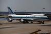 """ZK-NBS Boeing 747-419 c/n 24386 Frankfurt/EDDF/FRA 14-04-95 """"35mm slide"""""""