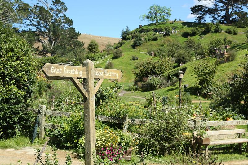 Signpost, Hobbiton