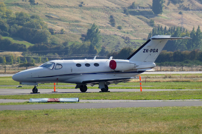 ZK-PGA Cessna 510 Citation Mustang c/n 510-0033 Queenstown/NZQN/ZQN 30-03-12