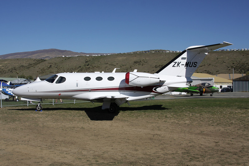 ZK-MUS Cessna 510 Citation Mustang c/n 510-0300 Wanaka/NZWF/WKA 06-04-12