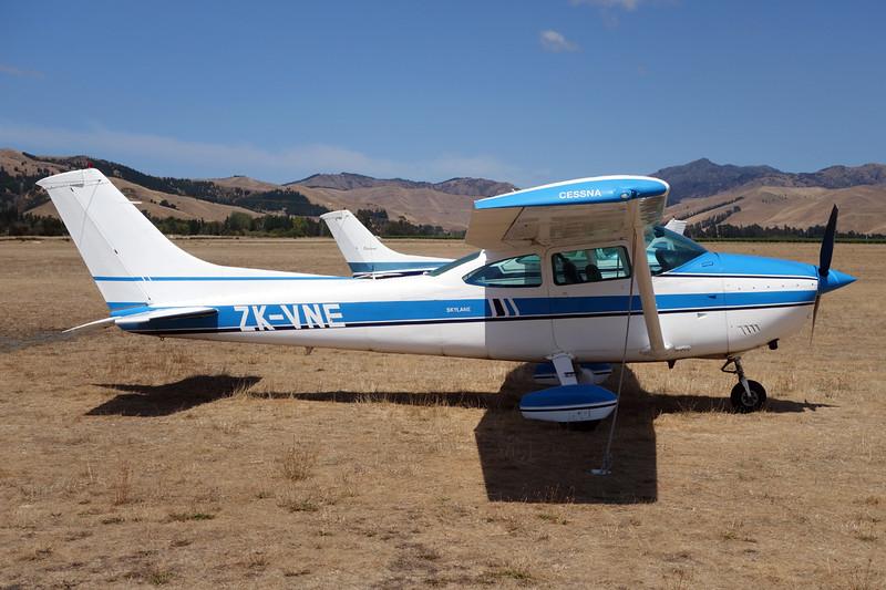ZK-VNE Cessna 182Q c/n 182-65831 Blenheim-Omaka/NZOM 07-02-15