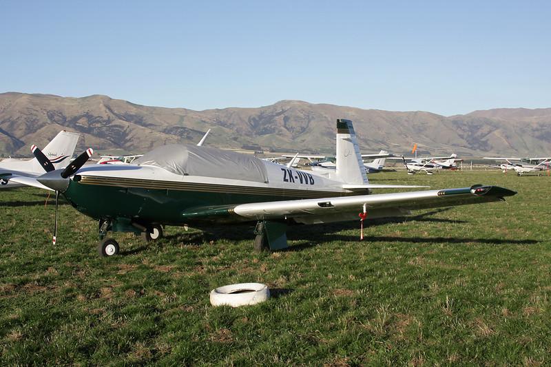 ZK-VVB Mooney M.20R c/n 29-0091 Wanaka/NZWF/WKA 06-04-12