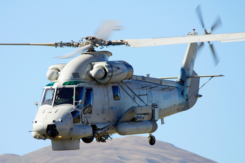 "NZ3603 (03) Kaman SH-2G Seasprite ""Royal New Zealand Navy"" c/n NZ03 Wanaka/NZWF/WKA 07-04-12"