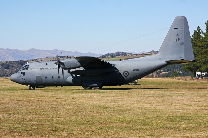 "NZ7002 Lockheed C-130H Hercules ""Royal New Zealand Air Force"" c/n 4053 Wanaka/NZWF/WKA 06-04-12"