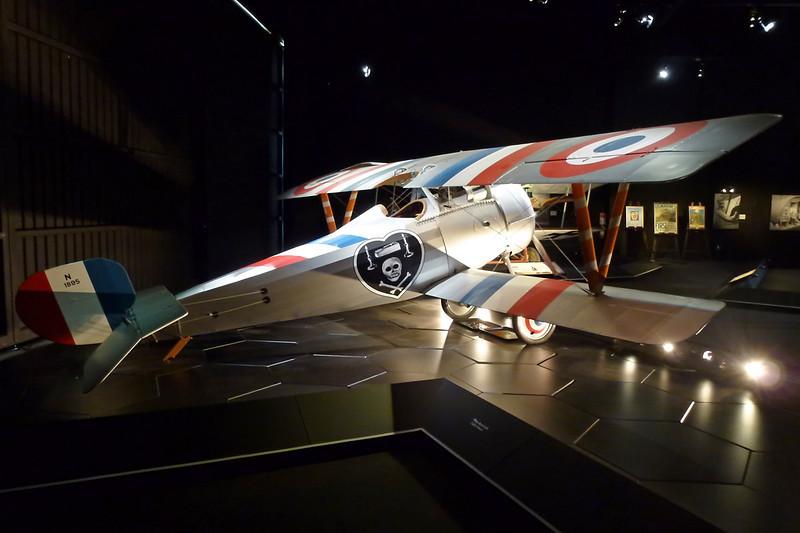 ZK-NIE Nieuport 24 bis Replica c/n PM7668 Blenheim-Omaka/NZOM 25-03-12