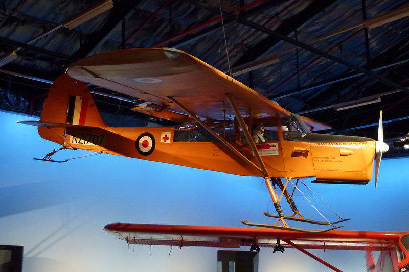 "NZ1707 Auster T.7 Antarctic ""Royal New Zealand Air Force"" c/n WE563 Wigram/NZWG 11-04-12"