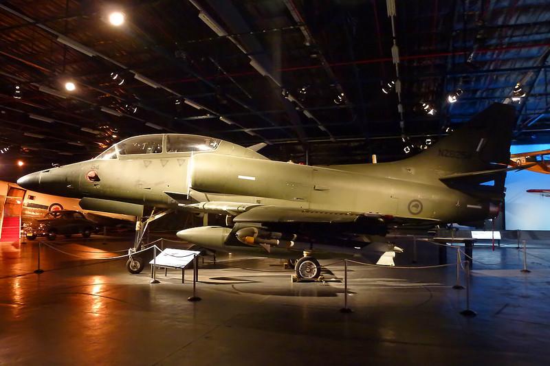 "NZ6254 Douglas TA-4K Skyhawk ""Royal New Zealand Air Force"" c/n 14097 Wigram/NZWG 11-04-12"