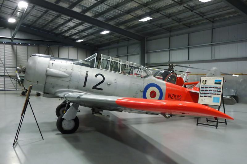 "NZ1012 (12) North American AT-6C Harvard IIa ""Royal New Zealand Air Force"" c/n 88-9269 Ashburton/NZAS 11-04-12"