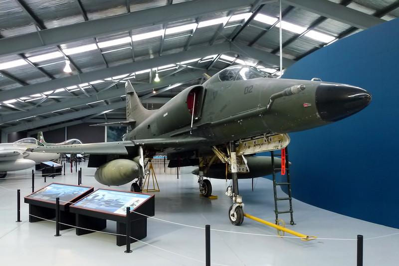 "NZ6202 (02) Douglas AT-4K Skyhawk ""Royal New Zealand Air Force"" c/n 14085 Wanaka/NZWF/WKA 24-03-12"