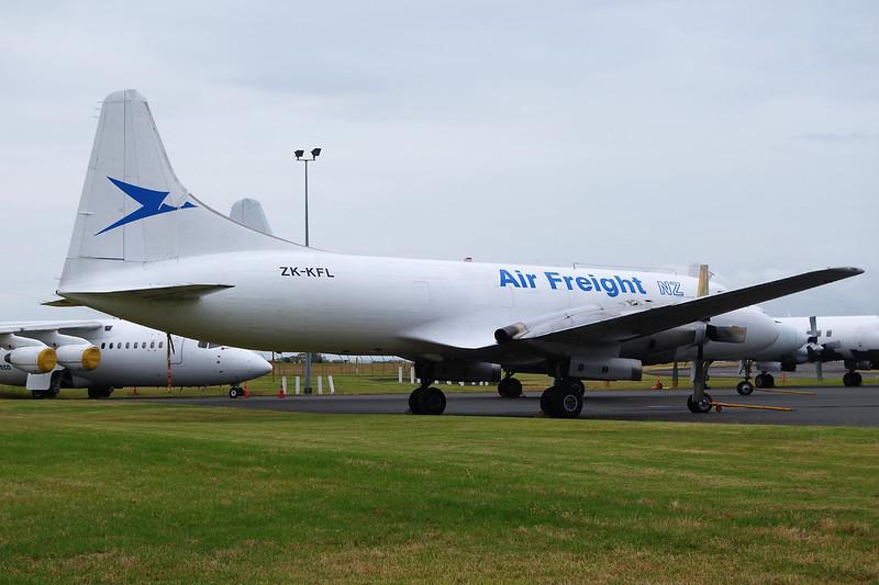 """ZK-KFL Convair 580F """"Air Freight New Zealand"""" c/n 372 Auckland/NZAA/AKL 01-02-15"""