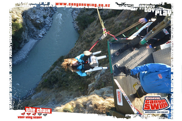 Shotover Canyon Swing — the World's Highest Cliff Jump