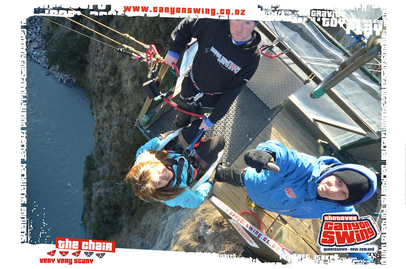 Shotover Canyon Swing The World S Highest Cliff Jump