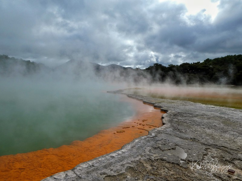 Wai-O-Tapu Thermal Wonderland: geothermal landscape 2