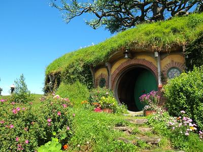 Bag End at Hobbiton in Matamata, New Zealand