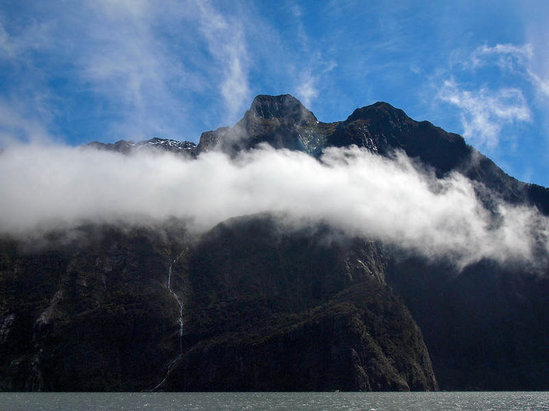 Clouds at Milford Sound