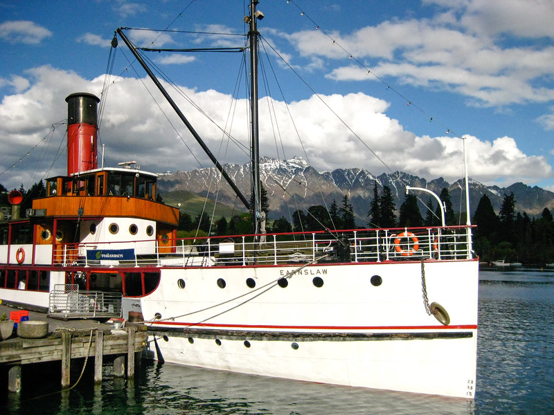 TSS Earnslaw in Queenstown, New Zealand