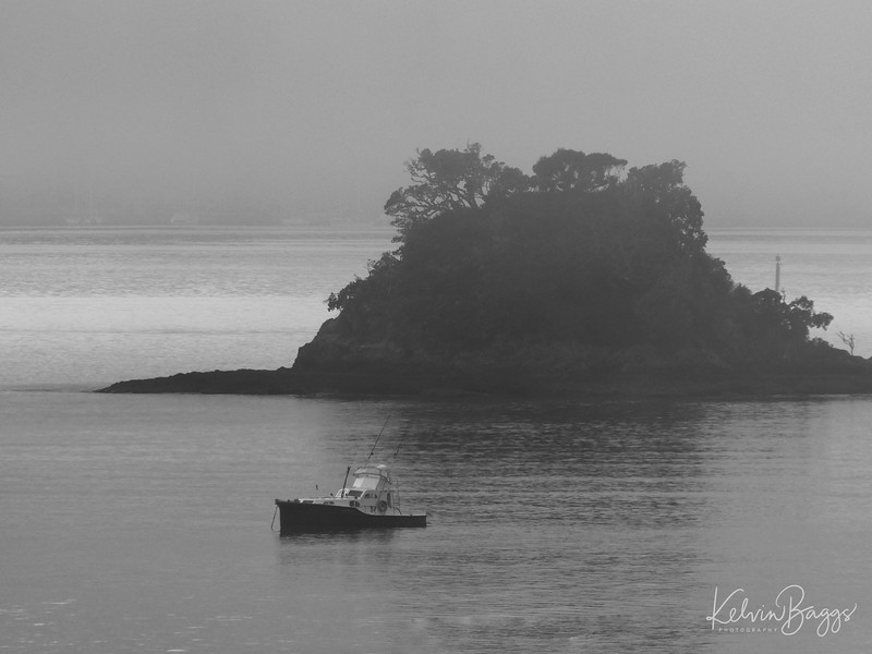 Bay of Islands - foggy morning