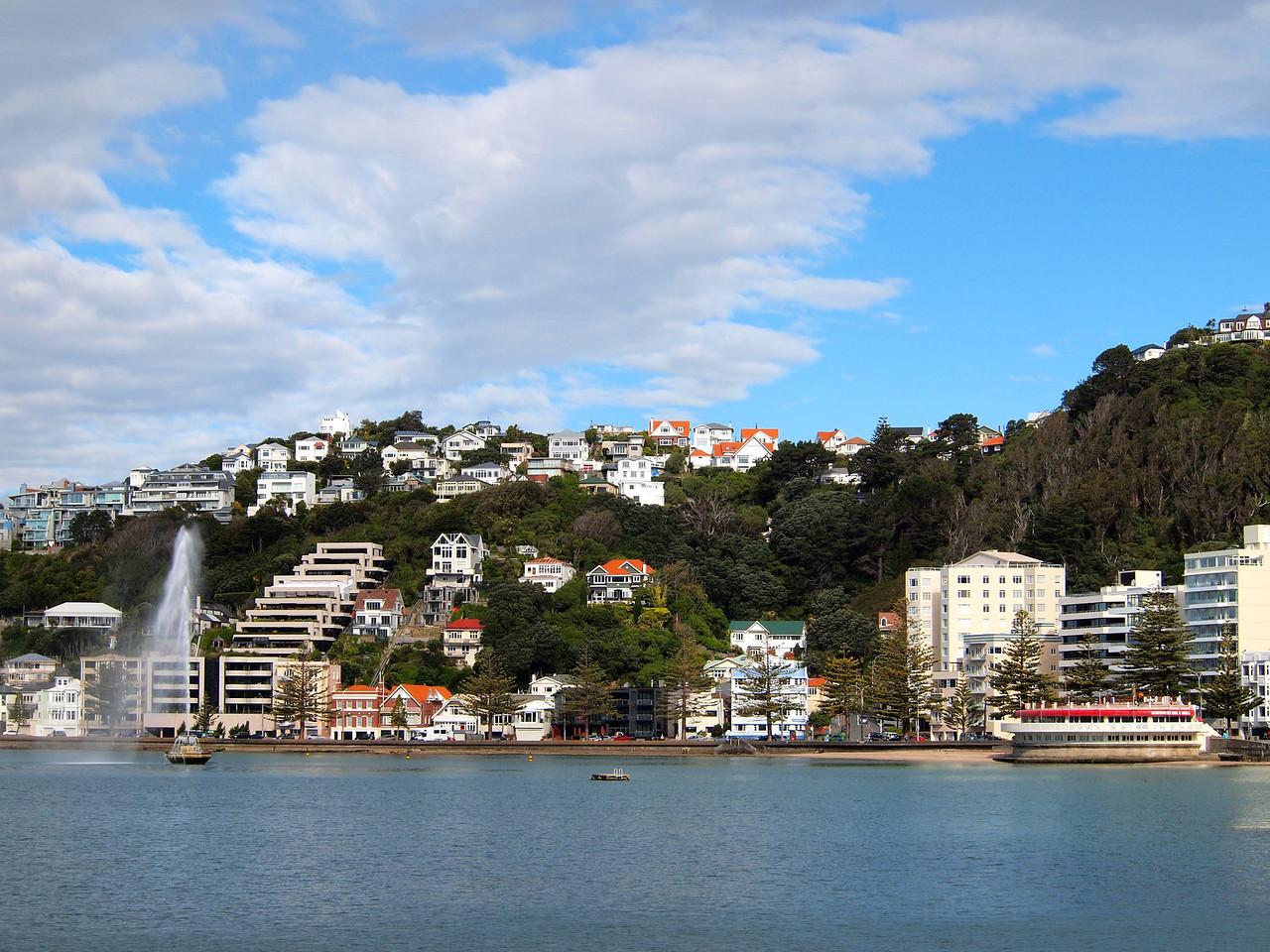 Oriental Bay in Wellington, New Zealand