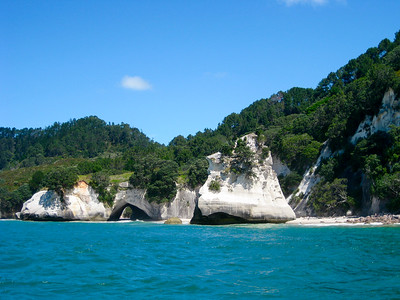 Cathedral Cove in Coromandel