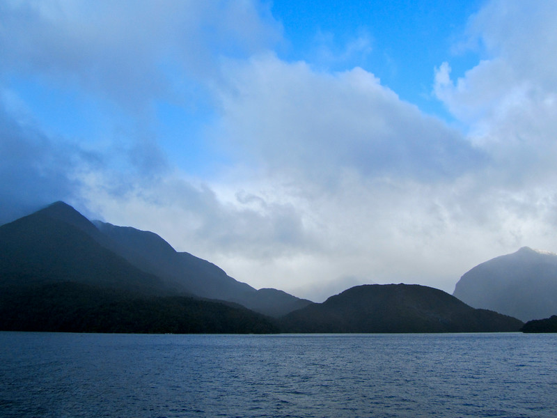 Doubtful Sound in New Zealand