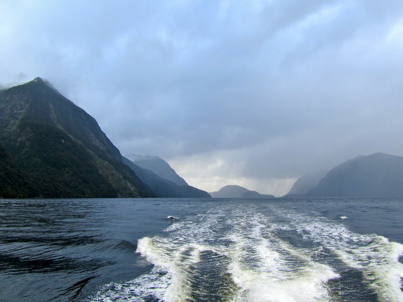 Cruising Doubtful Sound in New Zealand