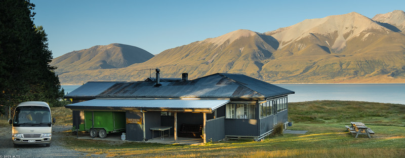 Shearers Lodge at Braemar Station, New Zealand