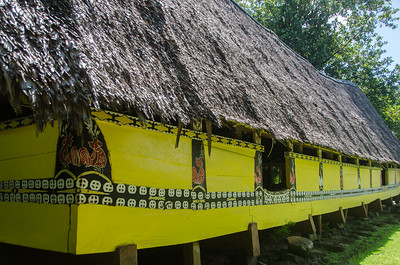 A traditional bai ...a meeting house...