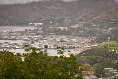The 'stilt village' in Port Moresby...
