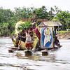 OC 438 - PNG, Symbols of Jubilee Year on Sepik River