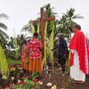 OC 439 - PNG, Blessing of the Cross in Timbunke Village