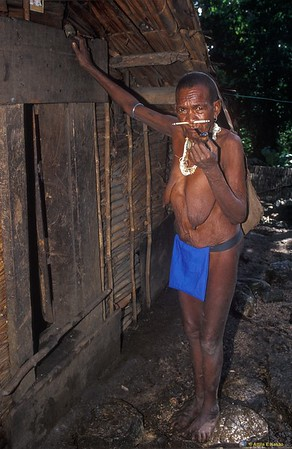 Kwailalae Woman (Chief's Mother) Kwailalae Village, Malaita, Solomon Is.