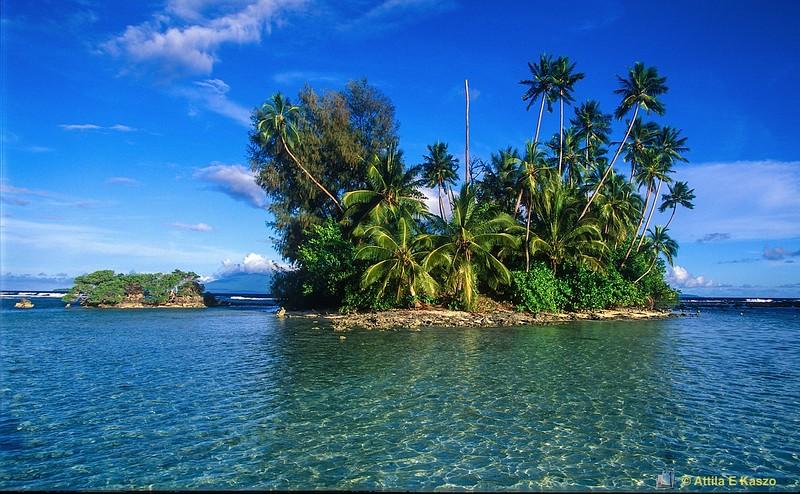 Skull Island<br /> Vonavona Lagoon, Solomon Is.