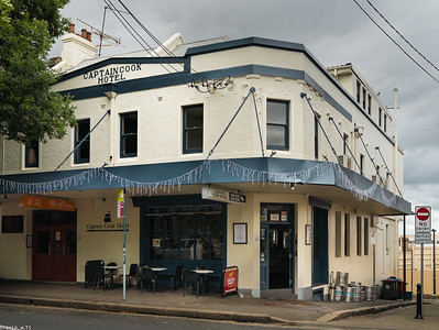 Captain Cook Hotel, The Rocks district, Sydney